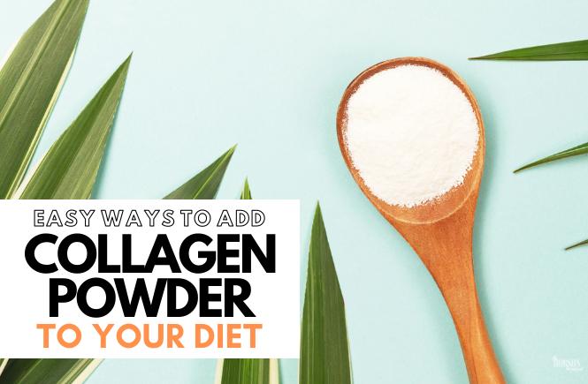 ways to add collagen powder