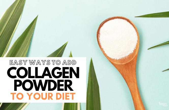ways to add collagen powder