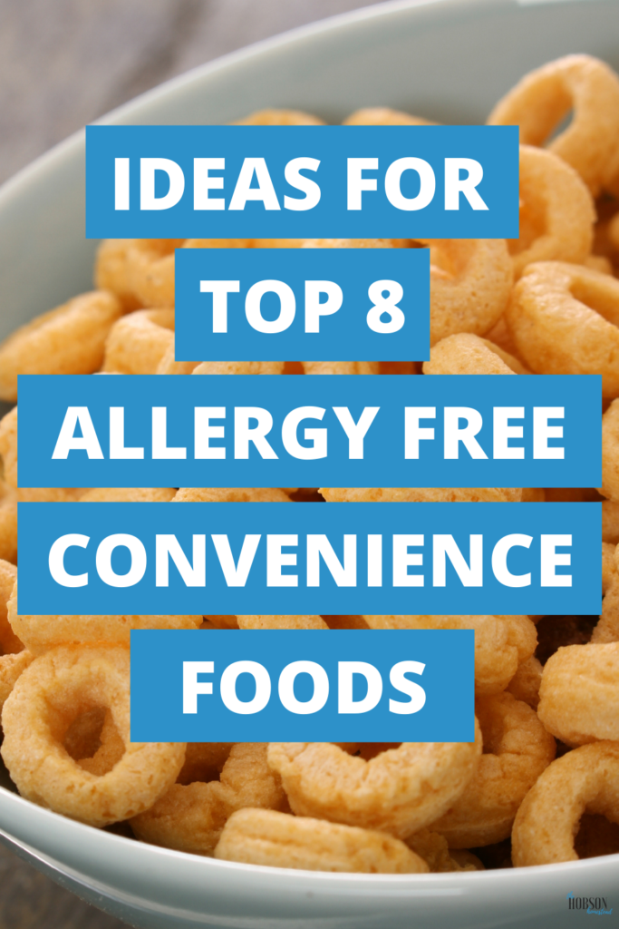 top 8 allergy free convenience foods