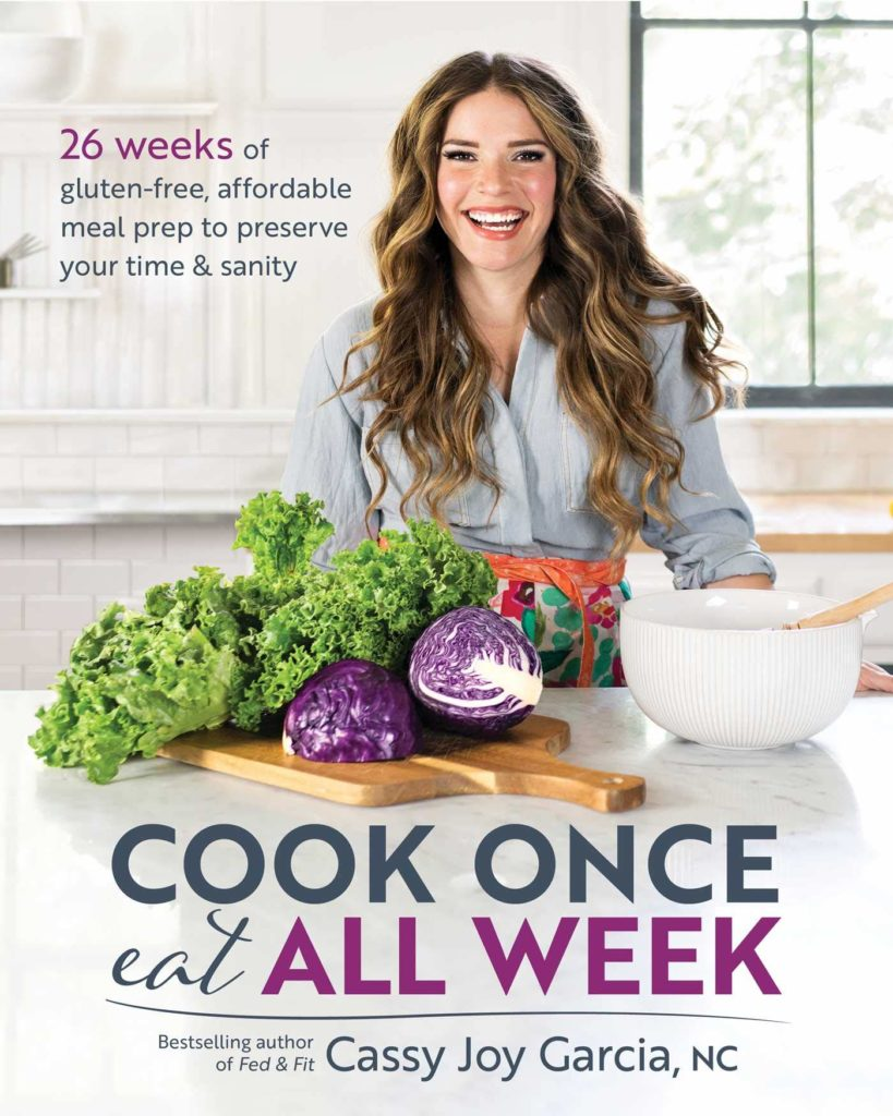 cook once eat all week, how to meal plan