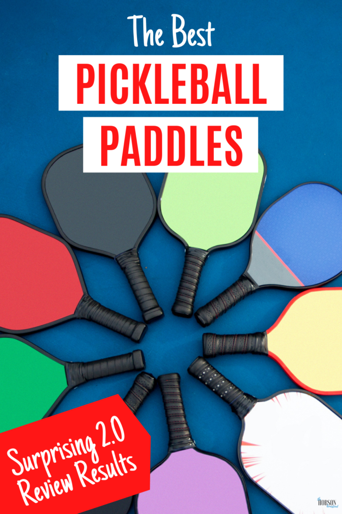 The Best Pickleball Paddles--Surprising 2.0 Review Results